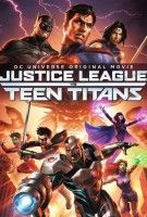 Affiche Justice League vs. Teen Titans