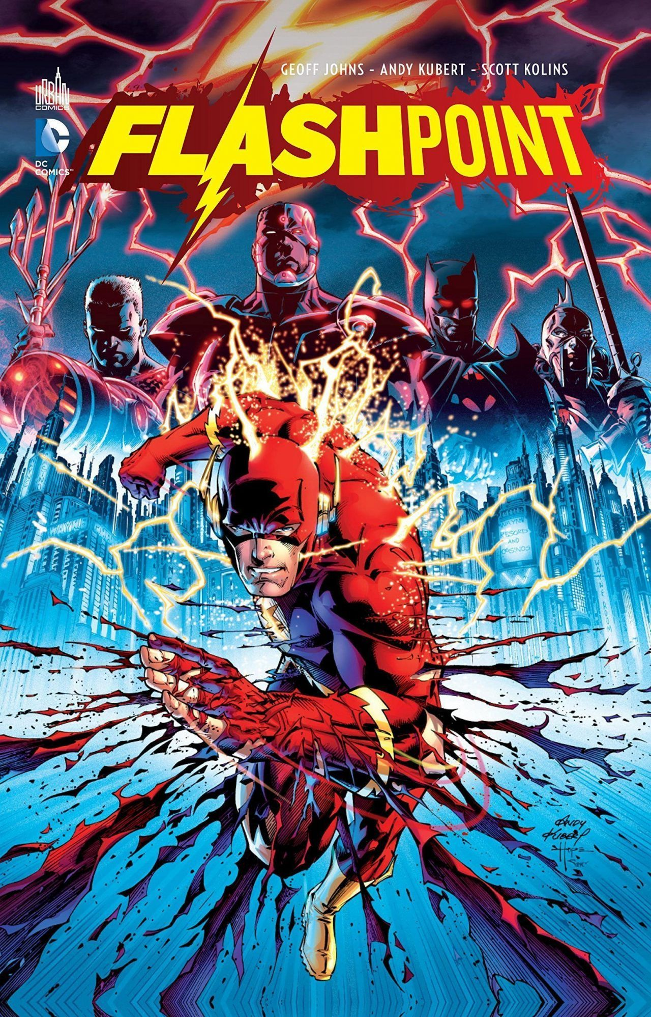 Le film sur Flash s intitulera Flashpoint