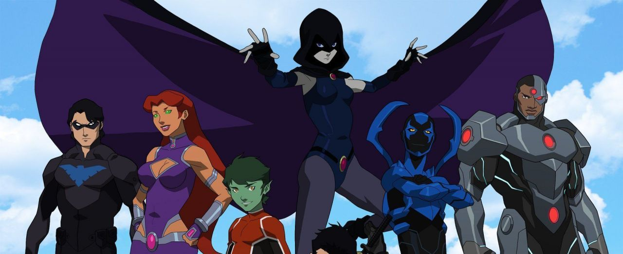 Photo Justice League vs. Teen Titans
