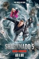Affiche Sharknado 5 : Global Swarming