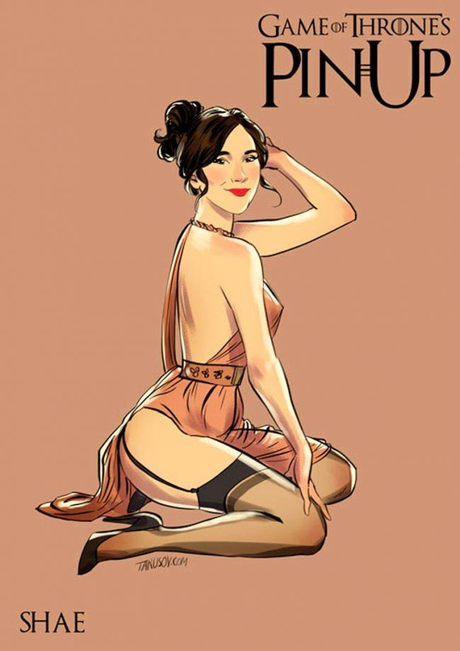 Game of Thrones : découvrez les héroines version pin-up #8
