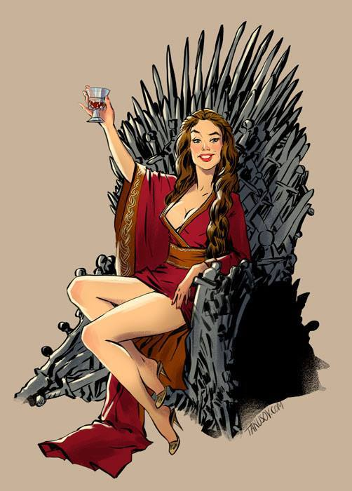 Game of Thrones : découvrez les héroines version pin-up