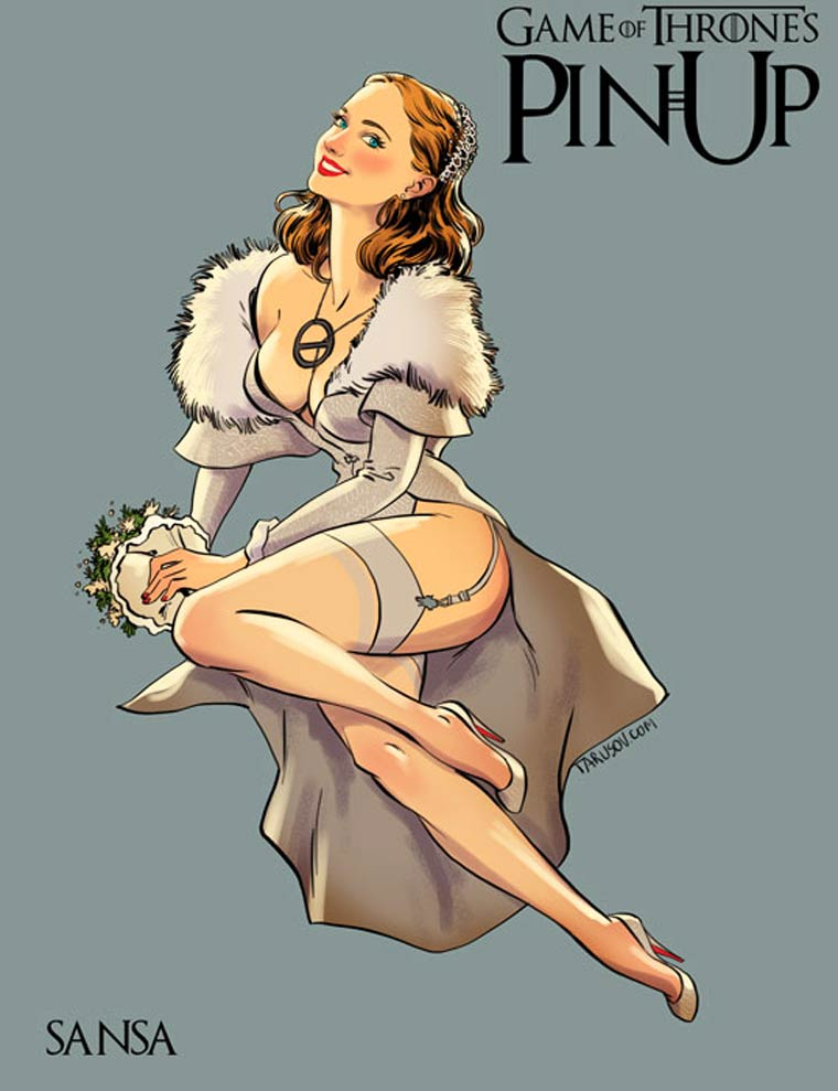 Game of Thrones : découvrez les héroines version pin-up #6
