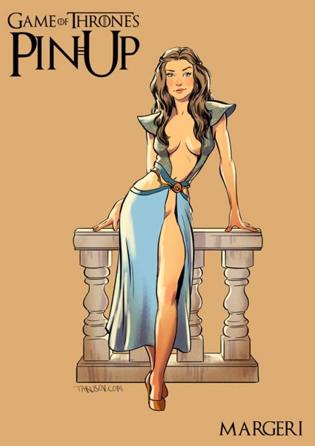 Game of Thrones : découvrez les héroines version pin-up #4