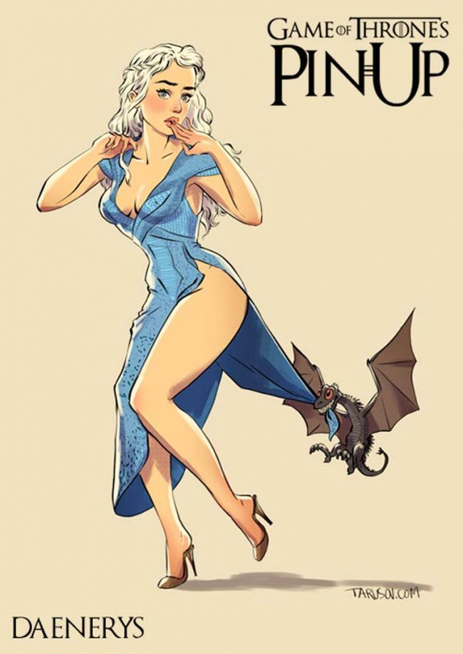 Game of Thrones : découvrez les héroines version pin-up #13