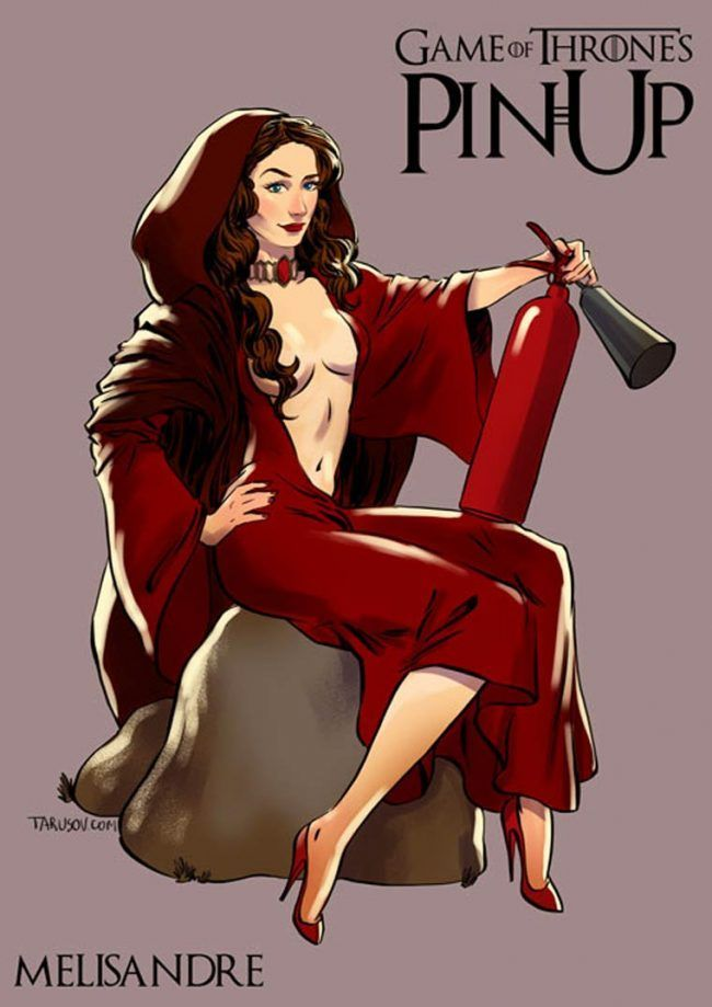 Game of Thrones : découvrez les héroines version pin-up #12