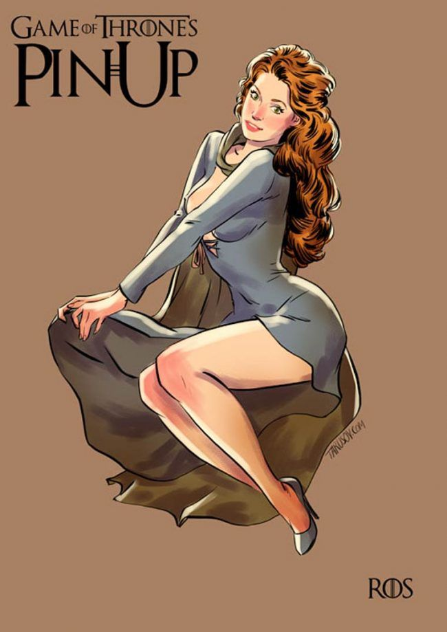 Game of Thrones : découvrez les héroines version pin-up #5