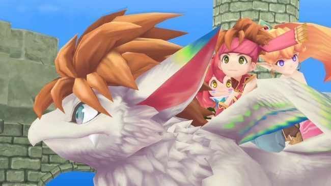 Secret of Mana de retour avec un remake 3D