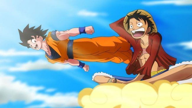 Un crossover entre Dragon Ball et One Piece sortira cet automne