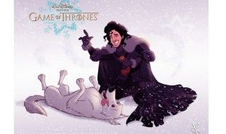 Game Of Thrones version Disney