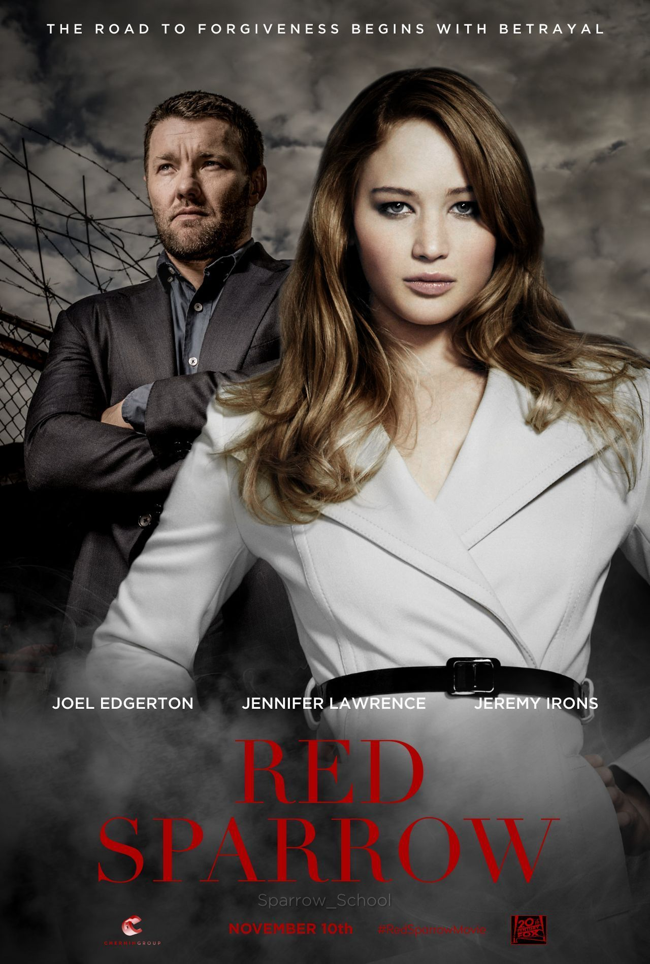 Affiche Red Sparrow