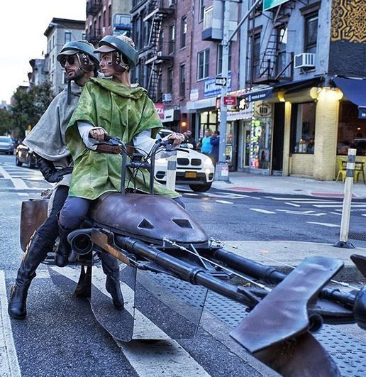 Star Wars : une course-poursuite en Speeder Bike dans les rues de New York #1