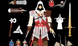 Assassin's Creed Graphics : tout l'univers Assassin's Creed en infographie