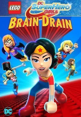 Affiche LEGO DC Comics Super Hero Girls : Brain Drain