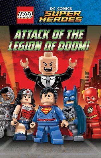 Affiche LEGO DC Comics Super Heroes : Justice League - Attack of the Legion of Doom