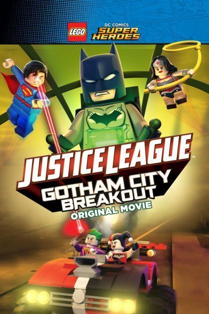 Affiche LEGO DC Comics Super Heroes : Justice League - Gotham City Breakout
