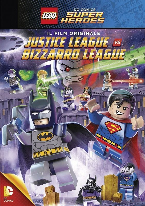 Affiche LEGO DC Comics Super Heroes : Justice League vs Bizarro League