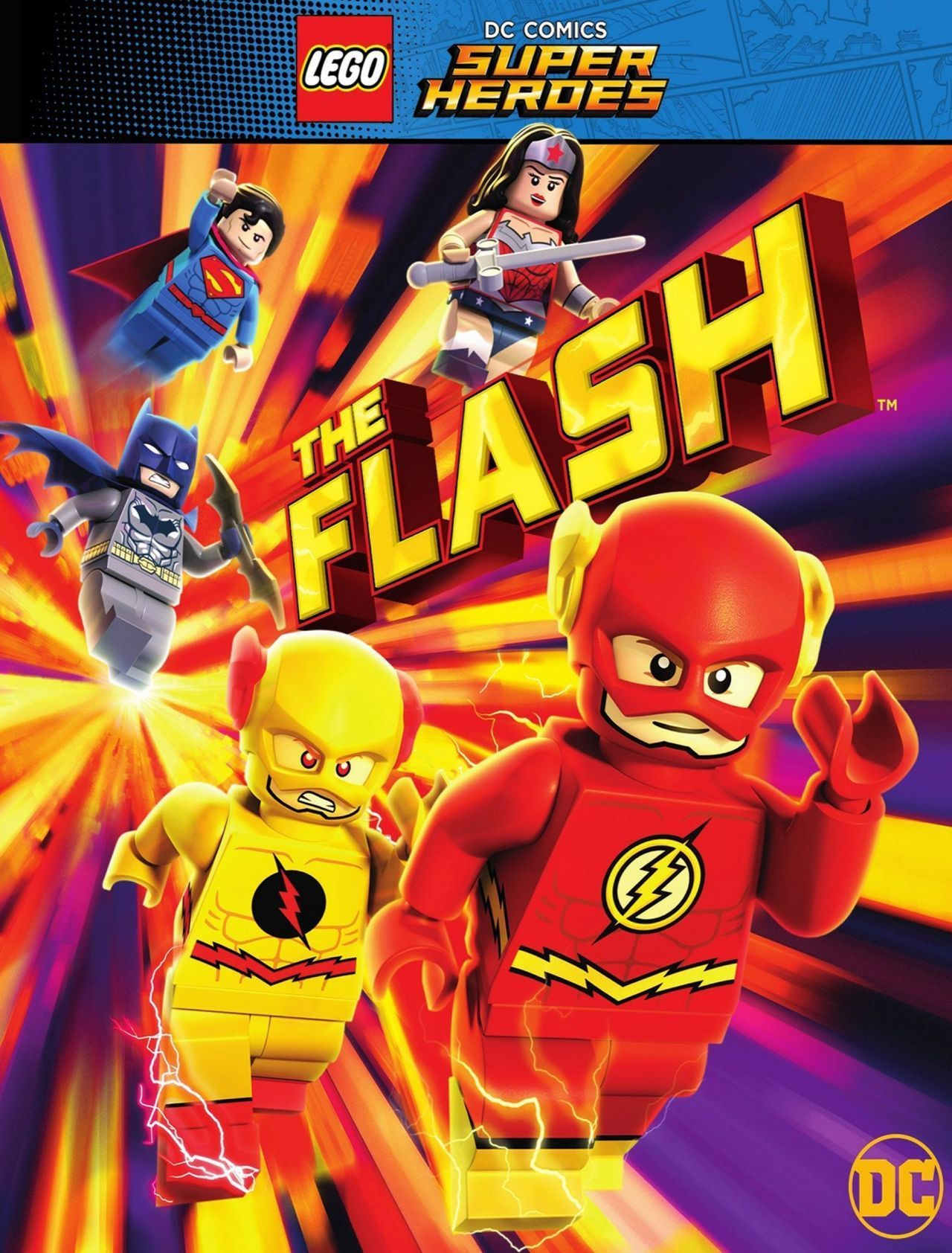 Affiche LEGO DC Super Heroes : The Flash