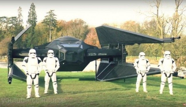 Star Wars : ce fan construit une réplique du Tie Silencer de Kylo Ren