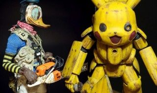 BadlandToys : Pikachu, Donald et Mickey en version post-apocalyptique