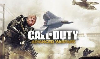 Donald Trump veut vendre un avion qui n'existe que dans Call Of Duty