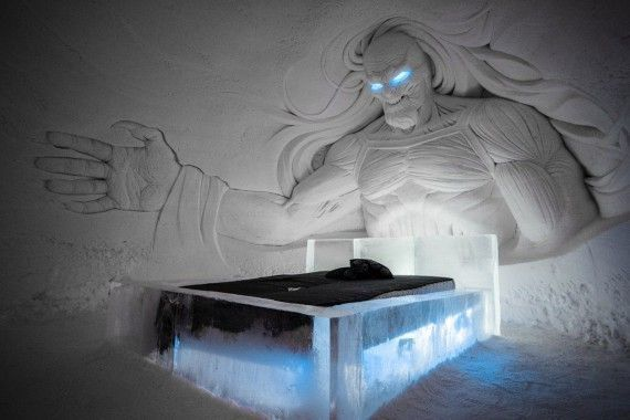 Game Of Thrones : un hôtel de de glace a ouvert en Finlande #3