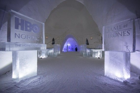 Game Of Thrones : un hôtel de de glace a ouvert en Finlande