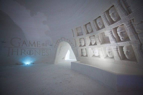 Game Of Thrones : un hôtel de de glace a ouvert en Finlande #6