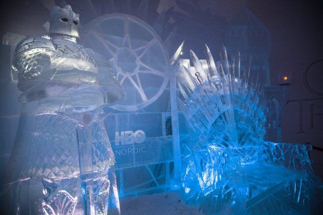 Game Of Thrones : un hôtel de de glace a ouvert en Finlande #2
