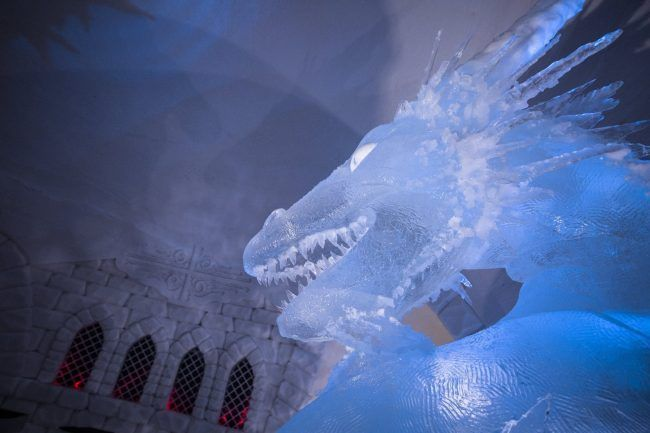 Game Of Thrones : un hôtel de de glace a ouvert en Finlande #7