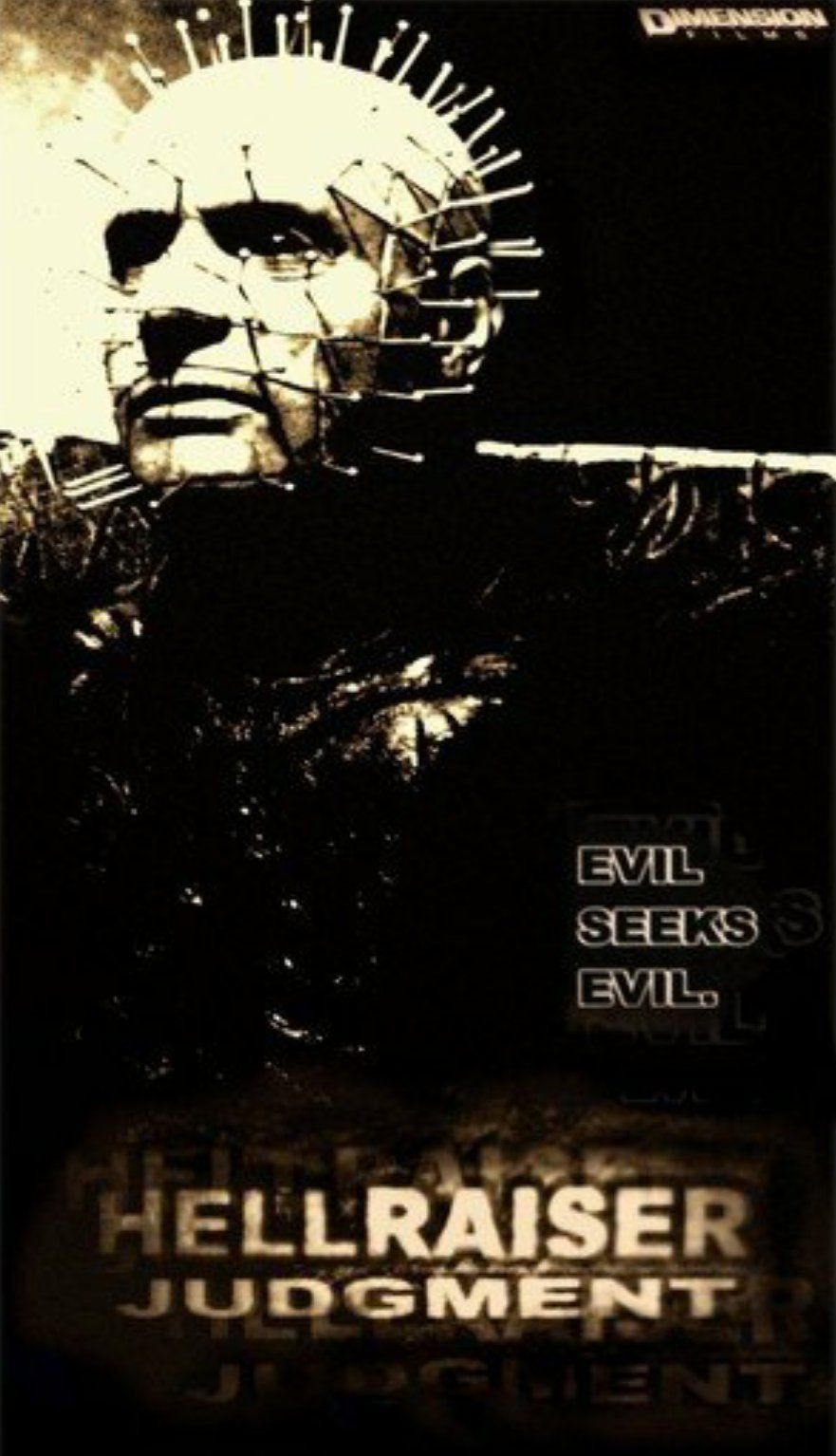 Affiche Hellraiser Judgment