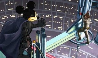 star-wars-cameo-mickey-empire contre attaque