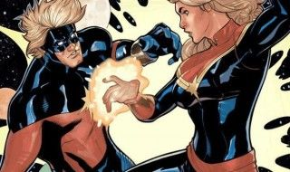 Encyclopédie Marvel : Captain Marvel et Captain Mar-Vell
