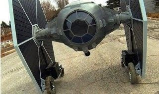 Star Wars : un fan fabrique son Tie-fighter téléguidé