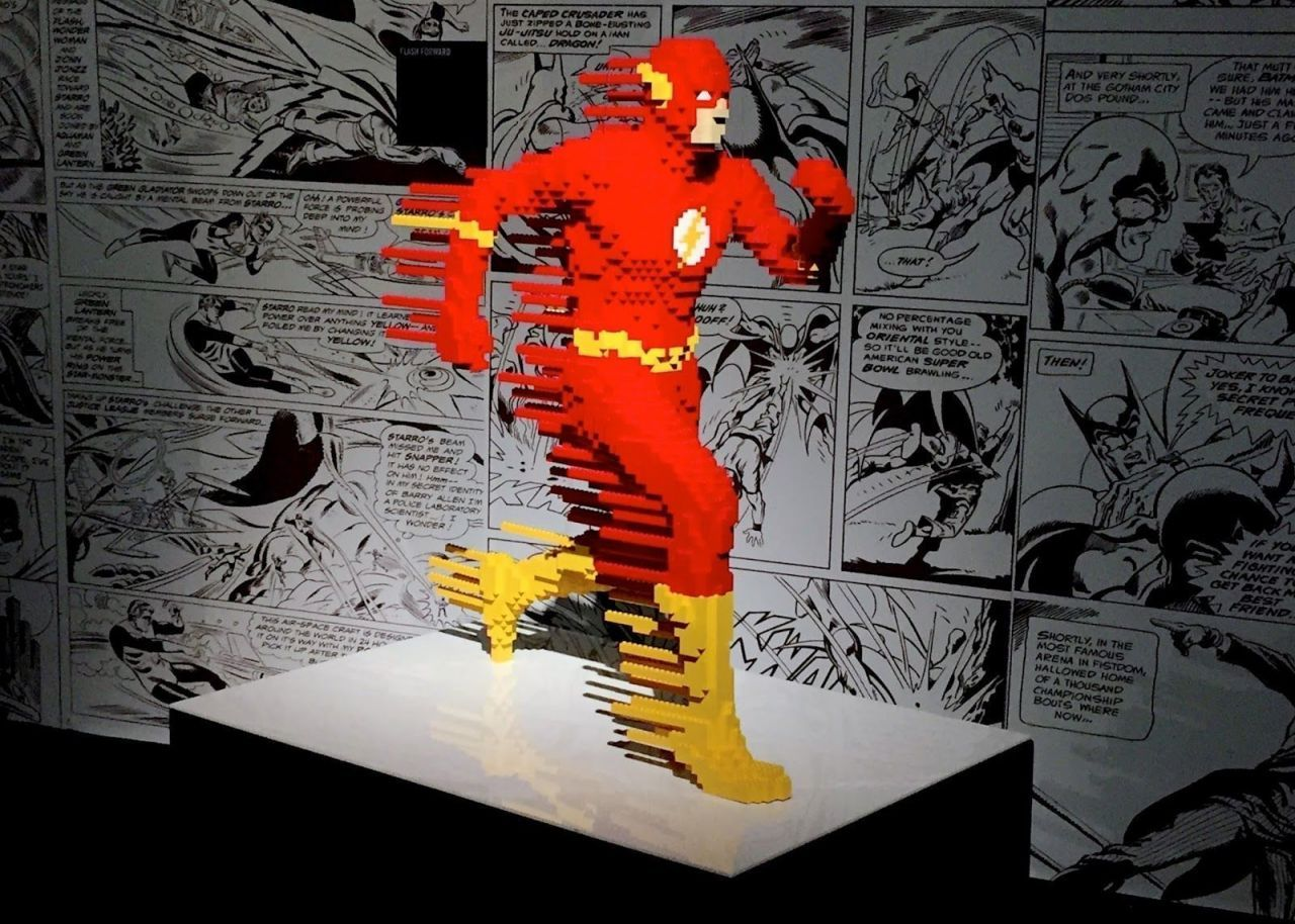 The Art of the Brick : les Super-Héros DC débarquent à Paris en version LEGO #2