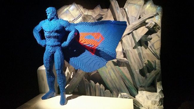 The Art of the Brick : les Super-Héros DC débarquent à Paris en version LEGO #3