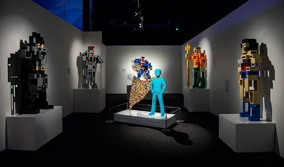 The Art of the Brick : les Super-Héros DC débarquent à Paris en version LEGO