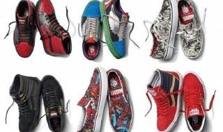 Vans et Marvel lancent une collection exclusive de baskets