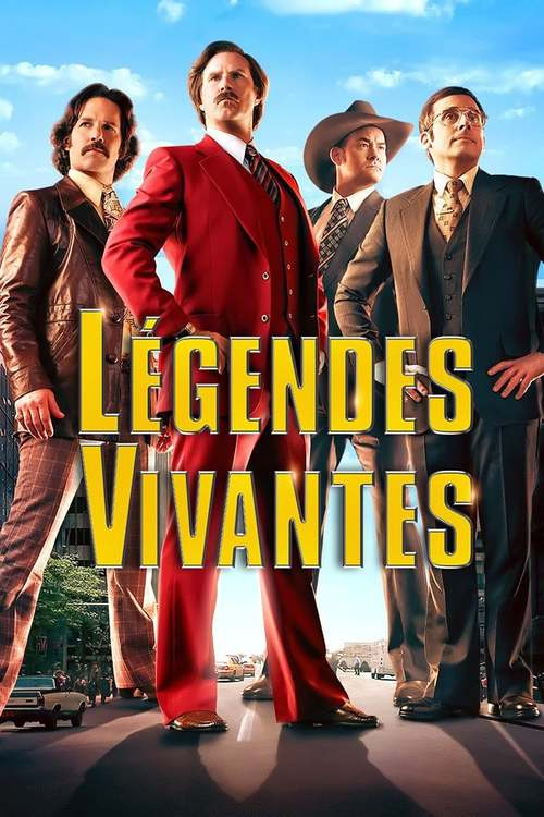Affiche Anchorman 2 : Légendes Vivantes