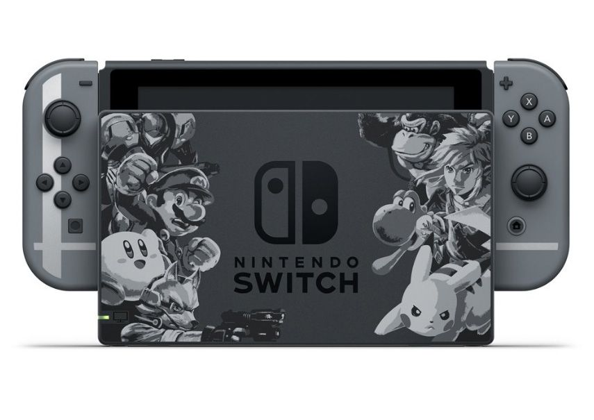 Nintendo Switch : un pack aux couleurs de Super Smash Bros Ultimate annoncé #2
