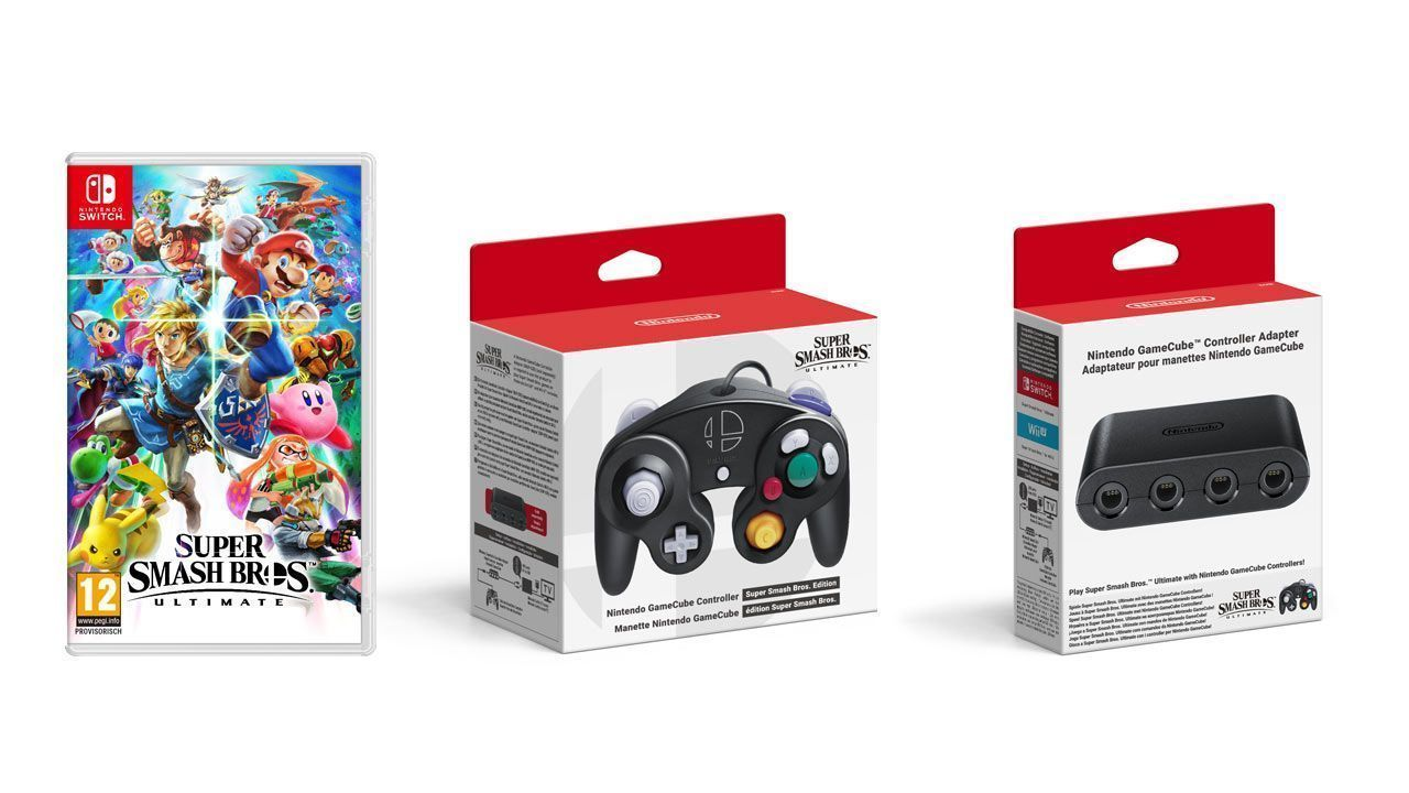 Nintendo Switch : un pack aux couleurs de Super Smash Bros Ultimate annoncé #3