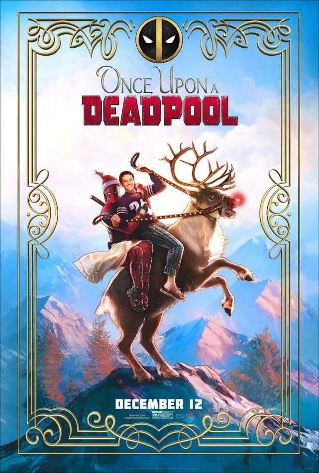 Affiche Once Upon a Deadpool
