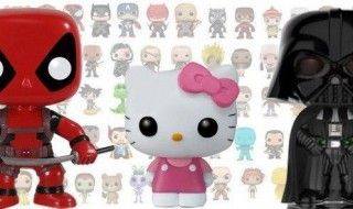 Funko Pop : bientôt un film d'animation avec Deadpool, Dark Vador et Hello Kitty