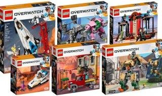 LEGO : les sets Overwatch maintenant disponibles