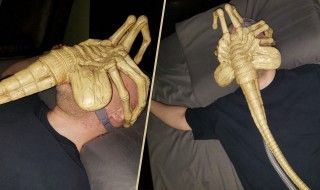 Alien : il transforme son masque respiratoire en Facehugger