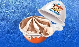 La glace Kinder Surprise arrive en France