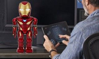 Iron Man : un mini robot intelligent et interactif à l'effigie de la MK50