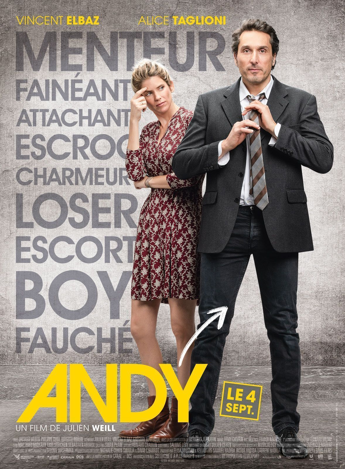 Affiche Andy