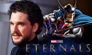 Kit Harrington sera Black Knight dans le film The Eternals