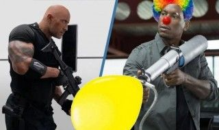 "Dwayne Johnson clashe les ""clowns"" de Fast and Furious"